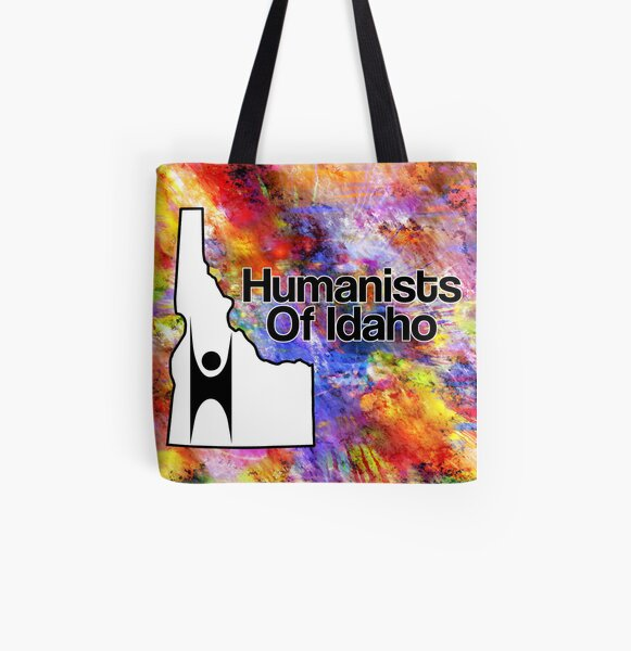 Colorful Humanists of Idaho All Over Print Tote Bag