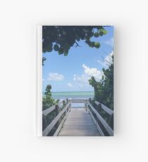 Welcome to the Beach Hardcover Journal