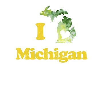 I Love Michigan by Boogiemonst