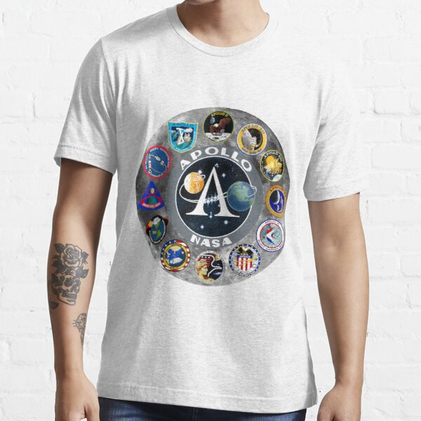 Apollo Mission Composite Logo Essential T-Shirt