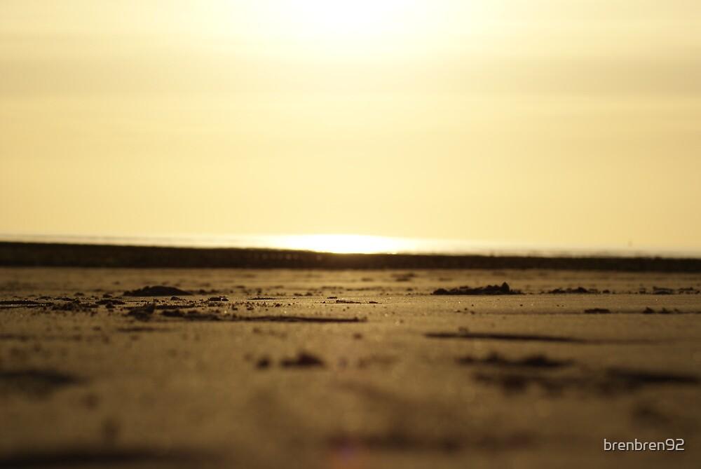 Sundown over the seas of wales by brenbren92