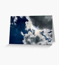Sun Through the Clouds 1 Greeting Card