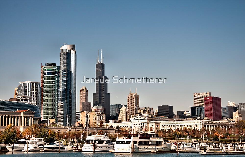 Chicago Sky Line by Jarede Schmetterer