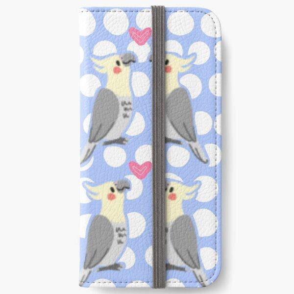 Cute Cockatiels iPhone Wallet
