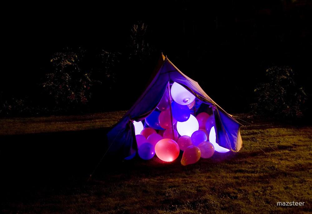 Balloon Tent by mazsteer