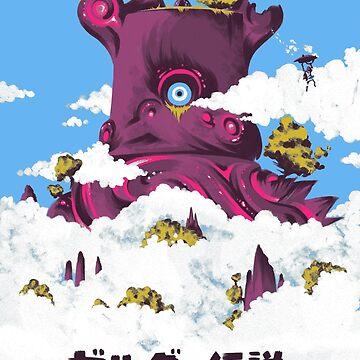TLOZ: Breath of the Wild (Japanese style design) by moeyumi
