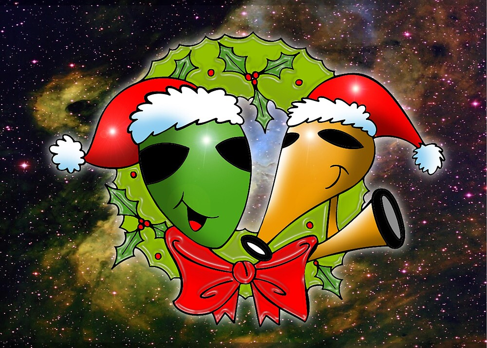 out of this world christmas by cardtricks