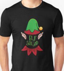 850f10d1d Cute Elf Squad Christmas X-mas Elves Costume T-shirt Unisex T-Shirt