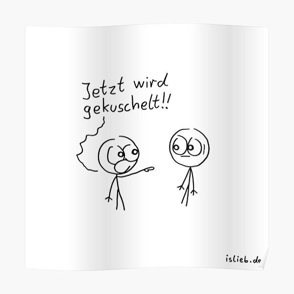 Kuschel Aufruf Poster