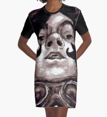 Goggles Graphic T-Shirt Dress