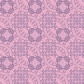 Soft pink patchwork by fuzzyfox