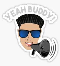 DJ Pauly D Megaphone Yeah Buddy! Sticker