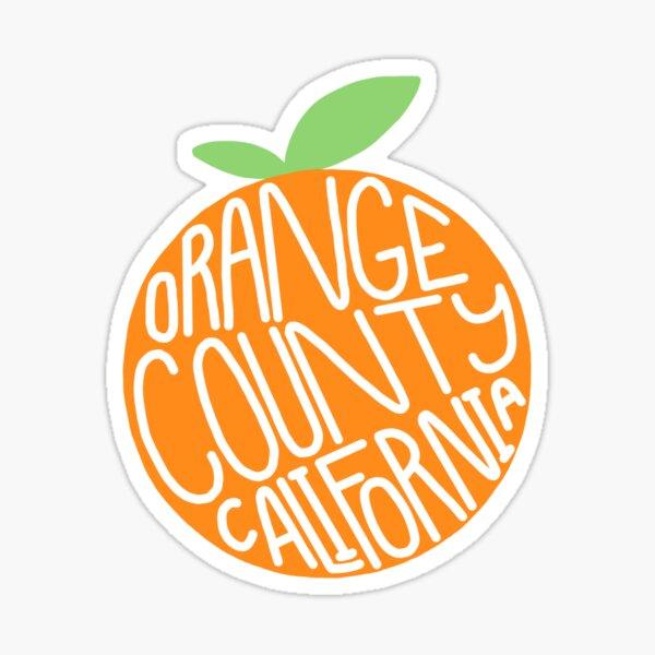 Orange county Sticker