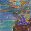Surrender to the Universe 16x20 acrylic on canvas by eoconnor