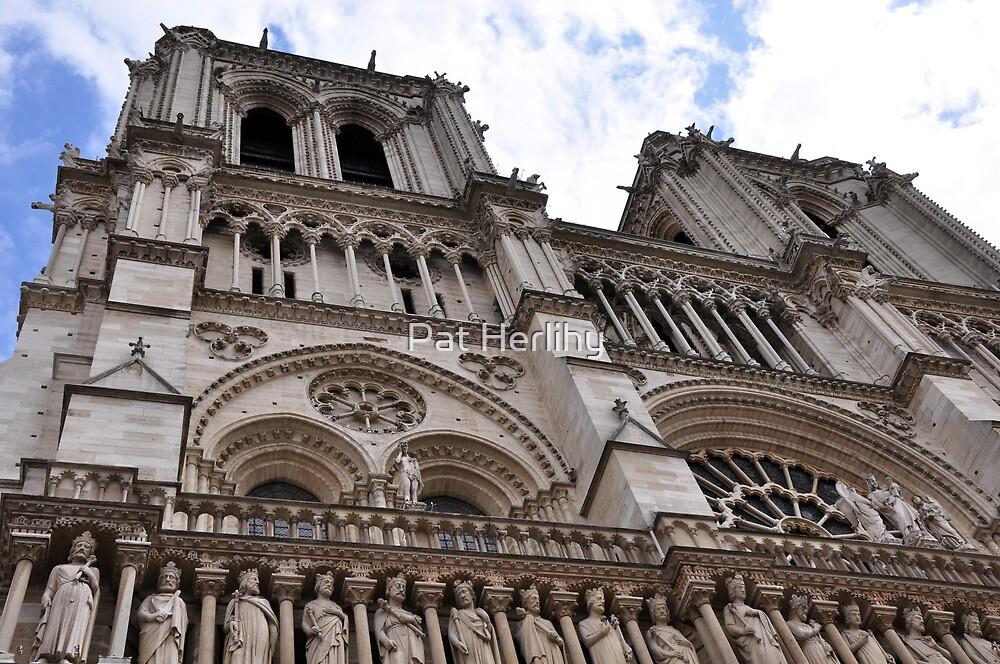 Notre Dame, Paris, France by Pat Herlihy
