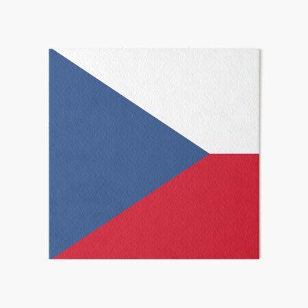 Czech Republic flag emblem Art Board Print