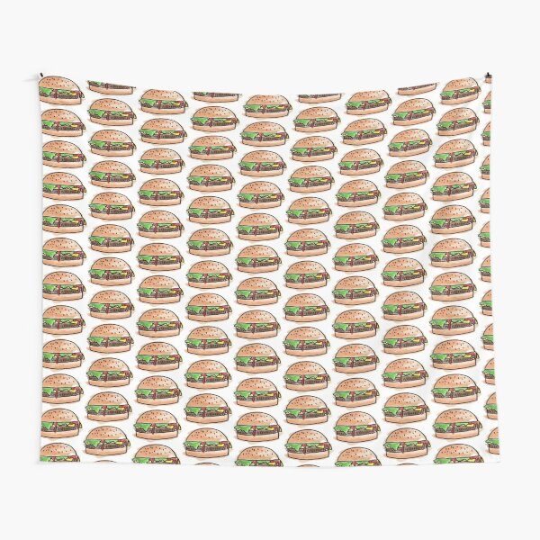 Burgers for days Tapestry