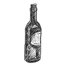 Bottle (Inktober 2018 #18) by dylanwolf