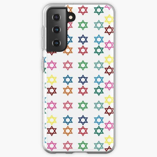 Jewish stars Samsung Galaxy Soft Case