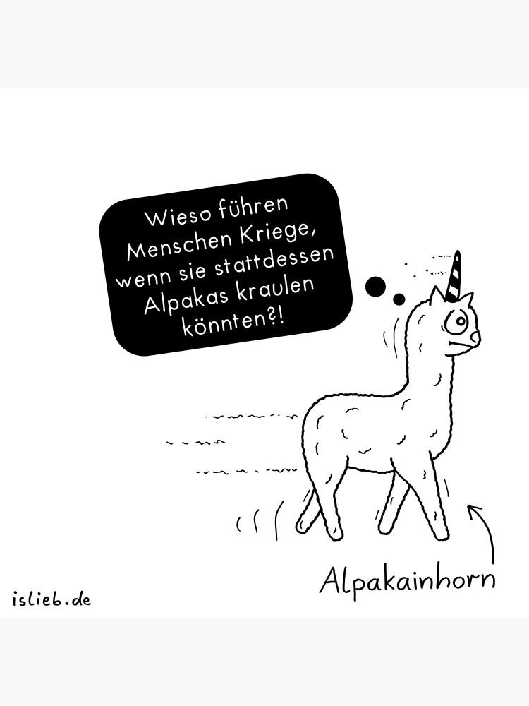 Alpakainhorn von islieb