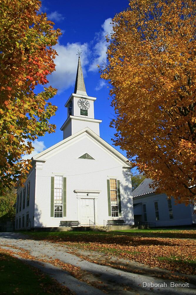 Church Of Franklin by Deborah  Benoit