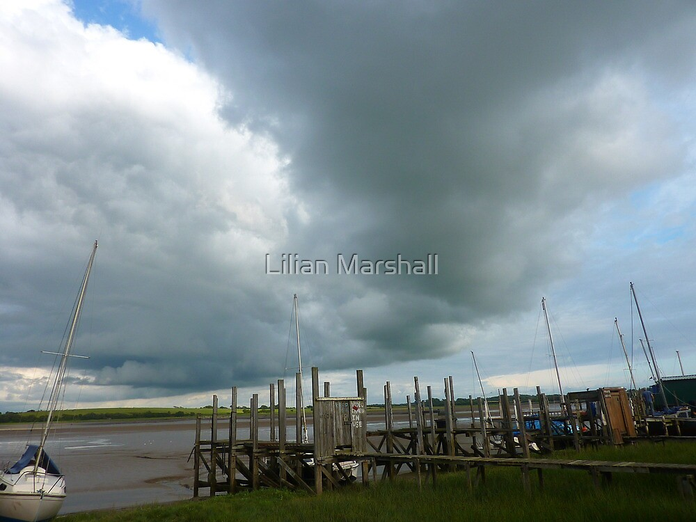 CHANGE IN THE WEATHER .  by Lilian Marshall