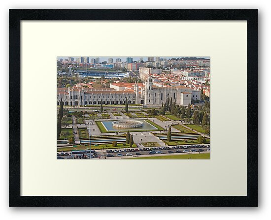 Jerónimos Monastery and the Empire Plaza. by terezadelpilar ~ art & architecture
