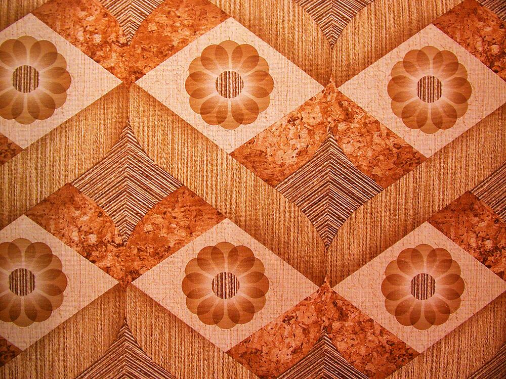 70's kitch pattern by violetstar