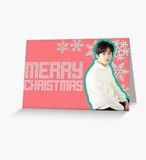 NCT MARK - CHRISTMAS CARD Greeting Card