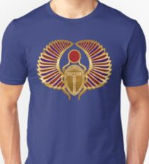 Egyptian Scarab Art Unisex T-Shirt
