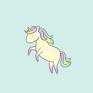 A Definitely Magical Unicorn by raediocloud
