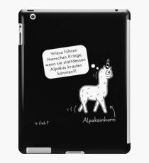 Alpakainhorn iPad-Hülle & Skin