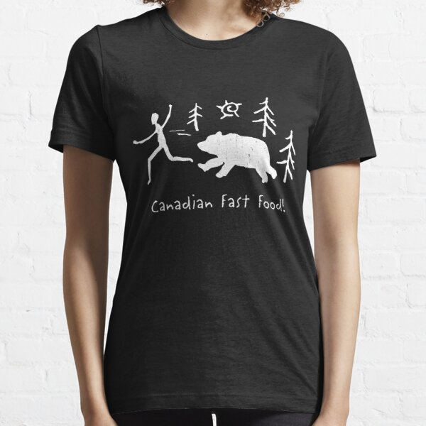 Canadian Fast Food Essential T-Shirt