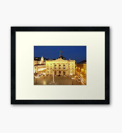 Lisbon Town Hall. Portugal Framed Print