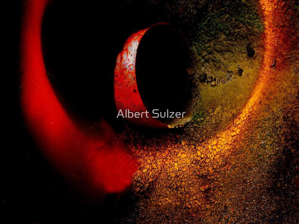 Street Abstract Art 01 by Albert Sulzer
