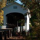 Pengra Covered Bridge by Susan Vinson