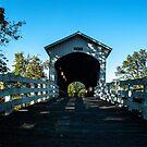 Currin Covered Bridge by Susan Vinson