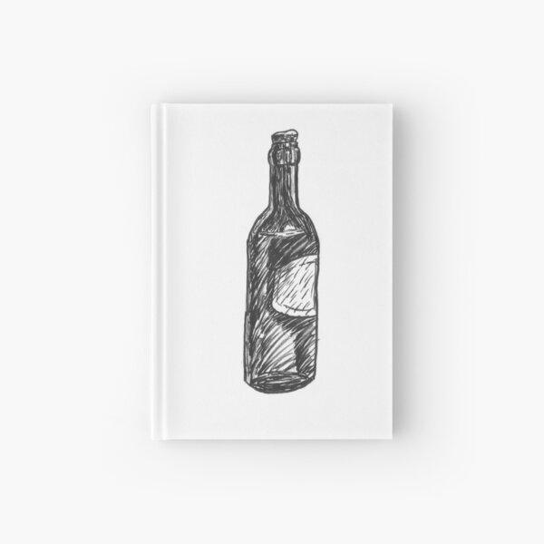 Bottle (Inktober 2018 #18) Hardcover Journal