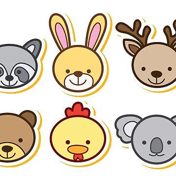 Animals Cartoon by tato69