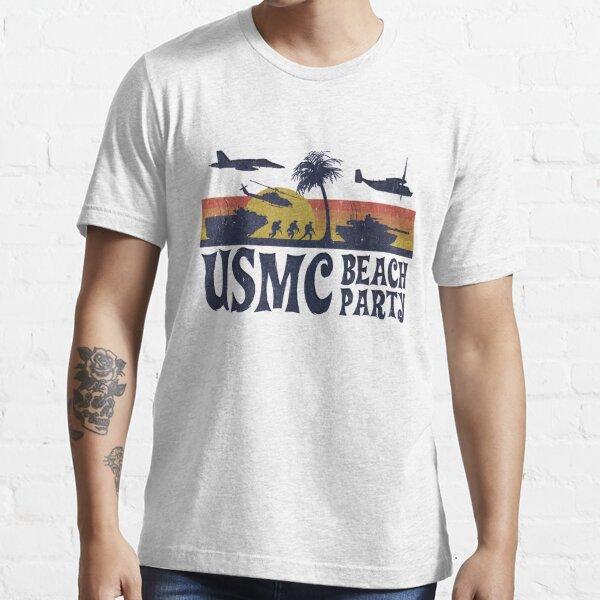USMC Beach Party Essential T-Shirt
