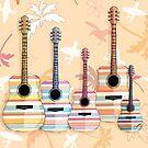 Indie Guitars by Karin Taylor