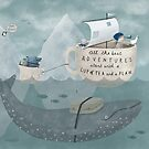 All the best Adventures start with a Cup of Tea and a Plan by Bex Morley