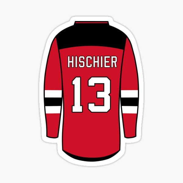 Nico Hischier Jersey Sticker