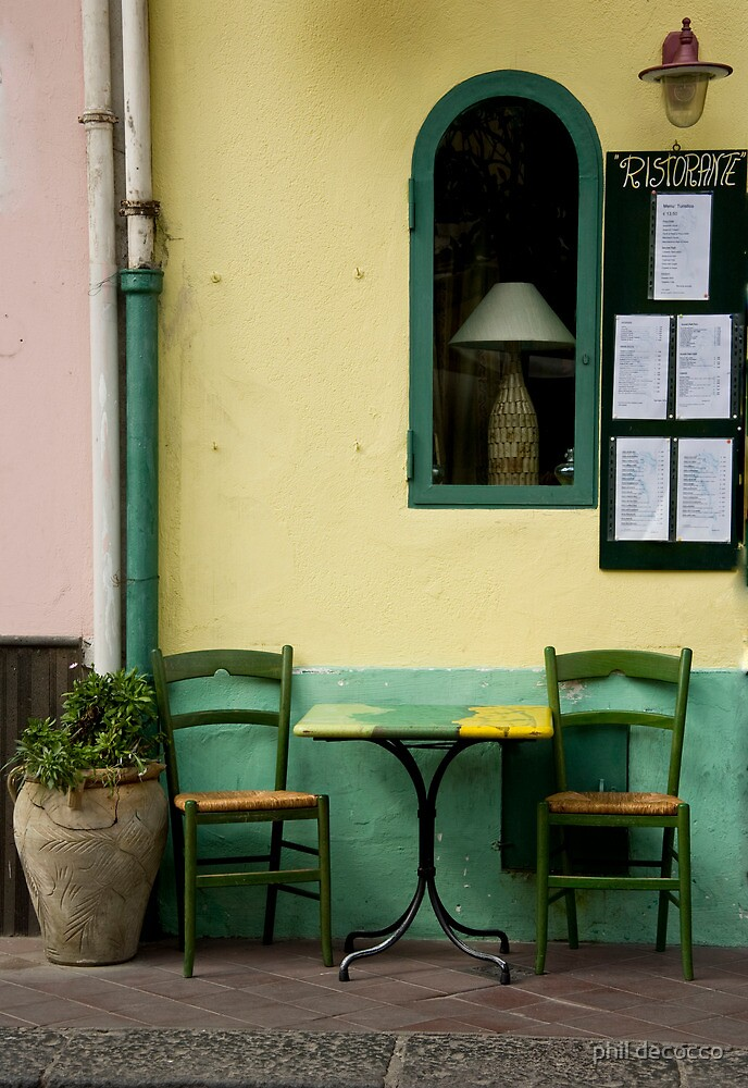 Streetside Table by phil decocco