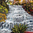 Katoomba Waterfall by Linda Callaghan
