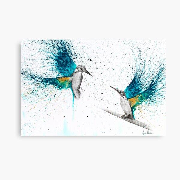 Kingfisher Memories Canvas Print