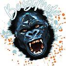 BEAST MODE Gorilla Gym Print Design by anarkdesigns