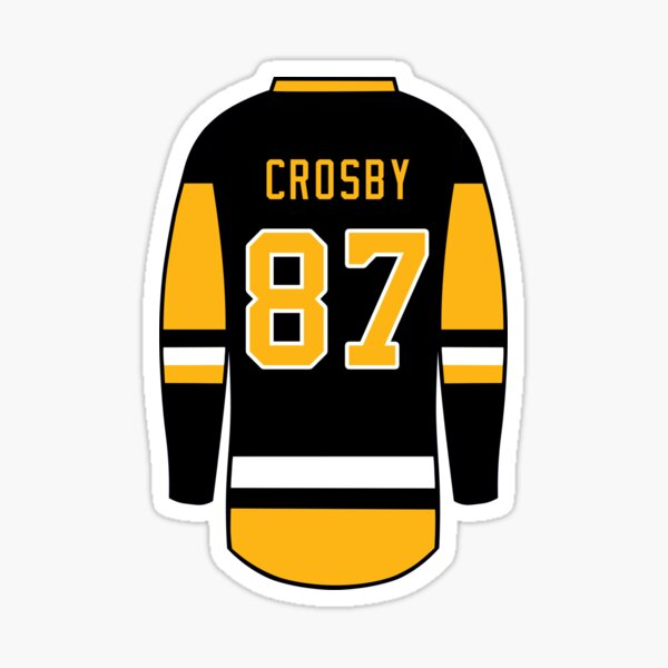 Sidney Crosby Jersey Sticker