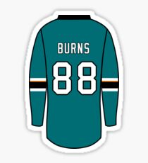 detailed look a0344 fd5db Brent Burns Stickers | Redbubble
