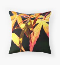 Bright Fall Throw Pillow